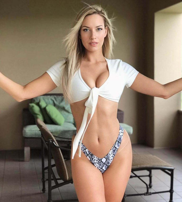 Paige Spiranac makes her BE Sports debut - Brian Edwards